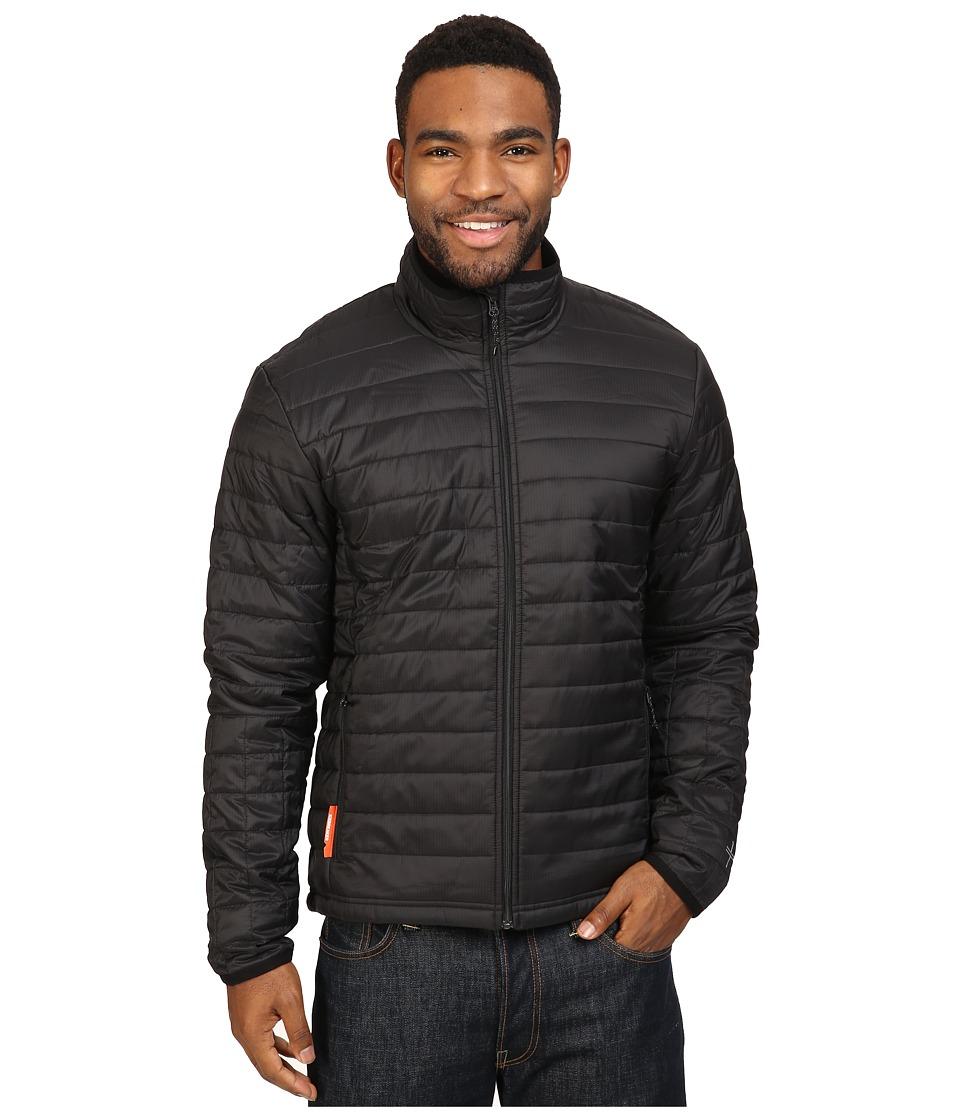 Icebreaker Stratus Long Sleeve Zip (Black/Black/Black) Men
