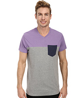 U.S. POLO ASSN. - Three Color Blocked V-Neck T-Shirt