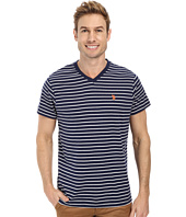 U.S. POLO ASSN. - Thin Stripe V-Neck T-Shirt