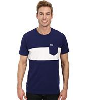 U.S. POLO ASSN. - Wide Chest Stripe Pocket Crew Neck T-Shirt