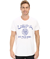 U.S. POLO ASSN. - Crew Neck Uspa Graphic T-Shirt