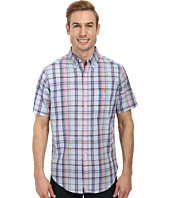 U.S. POLO ASSN. - Short Sleeve Madras Shirt