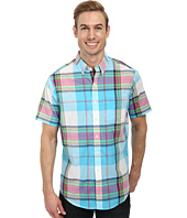 U.S. POLO ASSN. - Short Sleeve Madras Plaid Sport Shirt