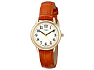 Timex - Easy Reader Croco Pattern Leather Strap Watch