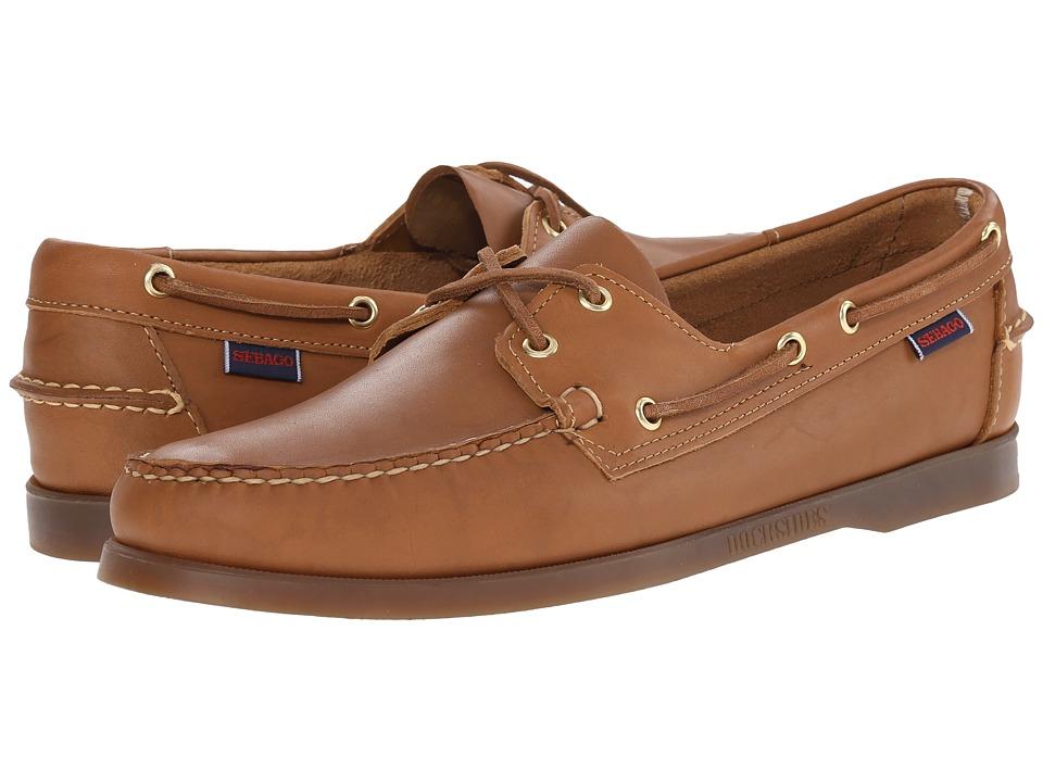 Sebago - Docksides (Cognac Leather) Mens Lace up casual Shoes