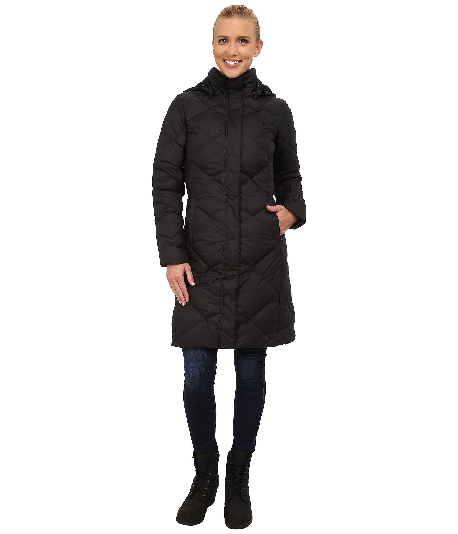 the north face miss metro parka free shipping. Black Bedroom Furniture Sets. Home Design Ideas