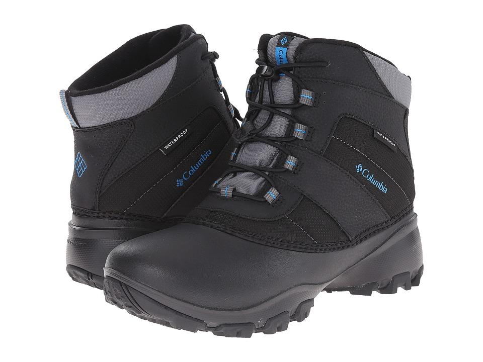 Columbia Kids - Rope Towtm III Waterproof Boot (Toddler/Little Kid/Big Kid) (Black/Dark Compass) Boys Shoes