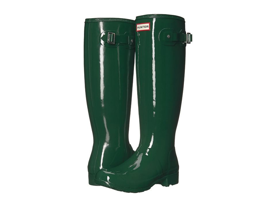 Hunter Original Tour Gloss (Hunter Green) Women