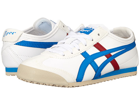 Onitsuka Tiger Kids by Asics Mexico 66® (Toddler/Little Kid) - White/Mid Blue