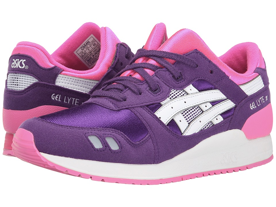 Onitsuka Tiger Kids by Asics - Gel-Lyte III (Big/Kid) (Purple/White) Girls Shoes