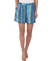 TWO by Vince Camuto - Ikat Chevron Culotte Shorts
