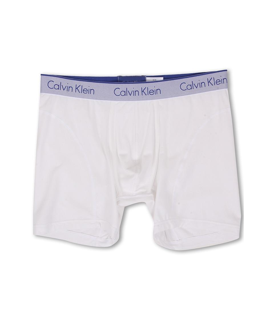 Calvin Klein Underwear Air Micro Boxer Brief White Mens Underwear