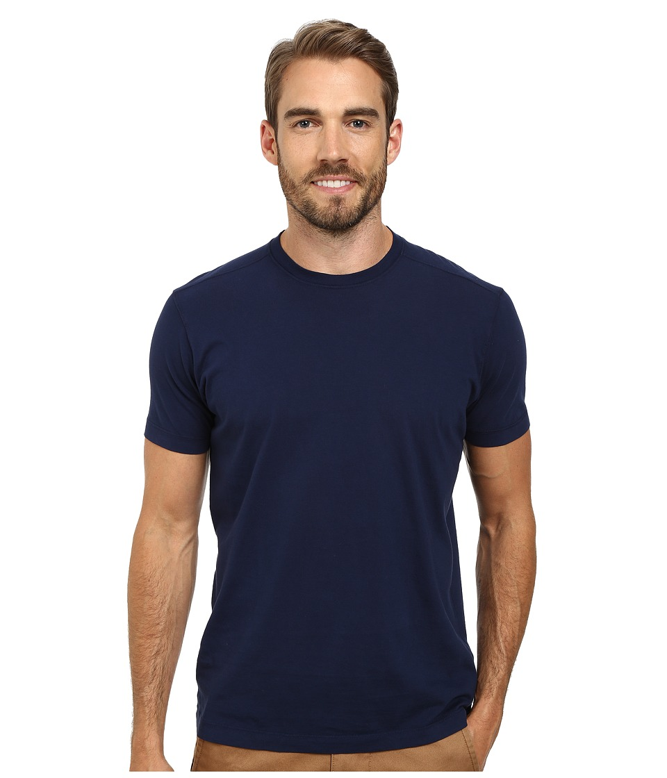 Agave Denim 100 Supima Cotton Agave Tee Navy Mens T Shirt
