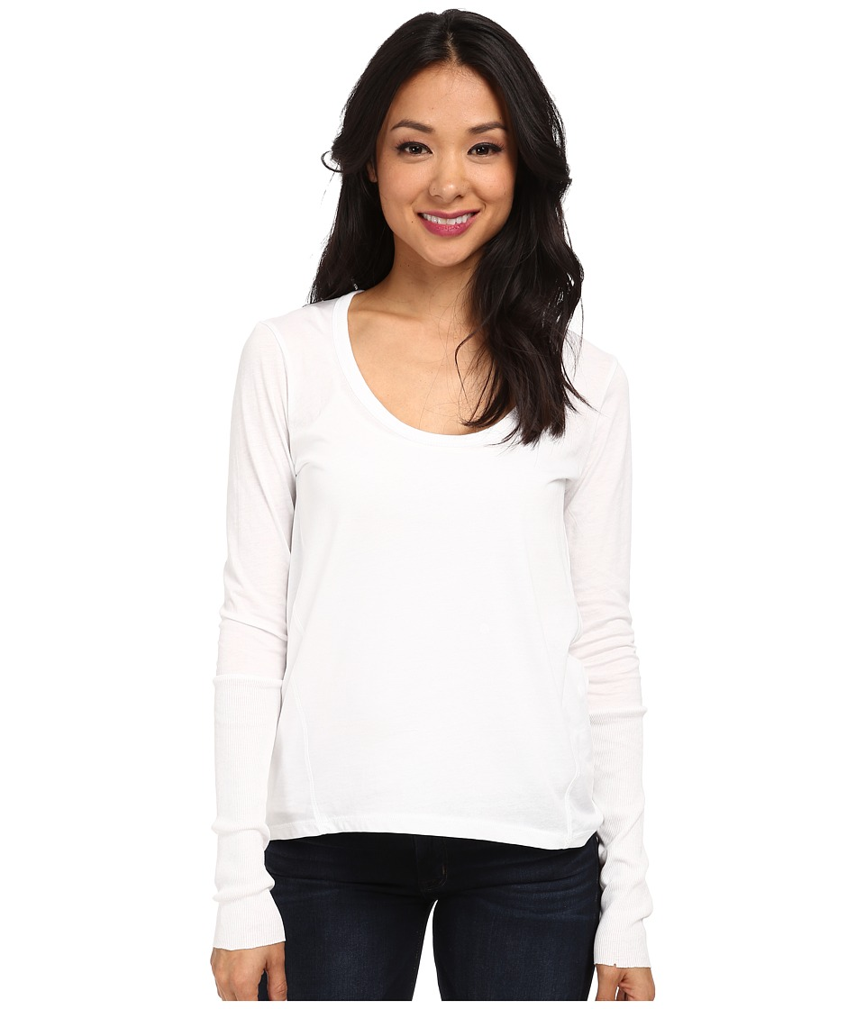 Alternative - Scoop Neck T-Shirt Long Sleeve