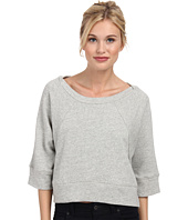 Alternative - Organic Light French Terry Dolman Crew Neck