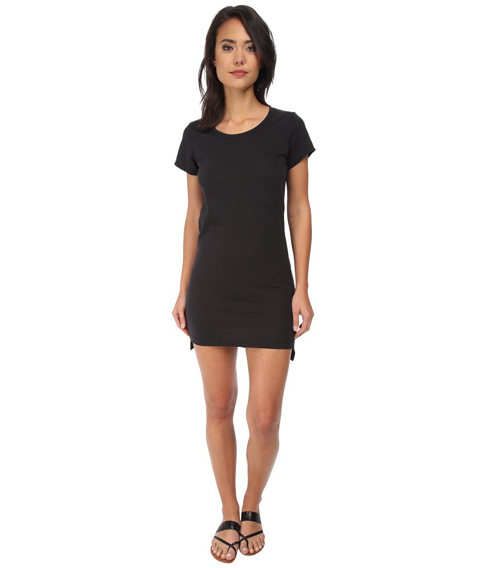 Alternative Eco Jersey T Shirt Dress Eco True Black Womens Dress