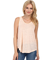 Alternative - Linen Slit Back Tank Top
