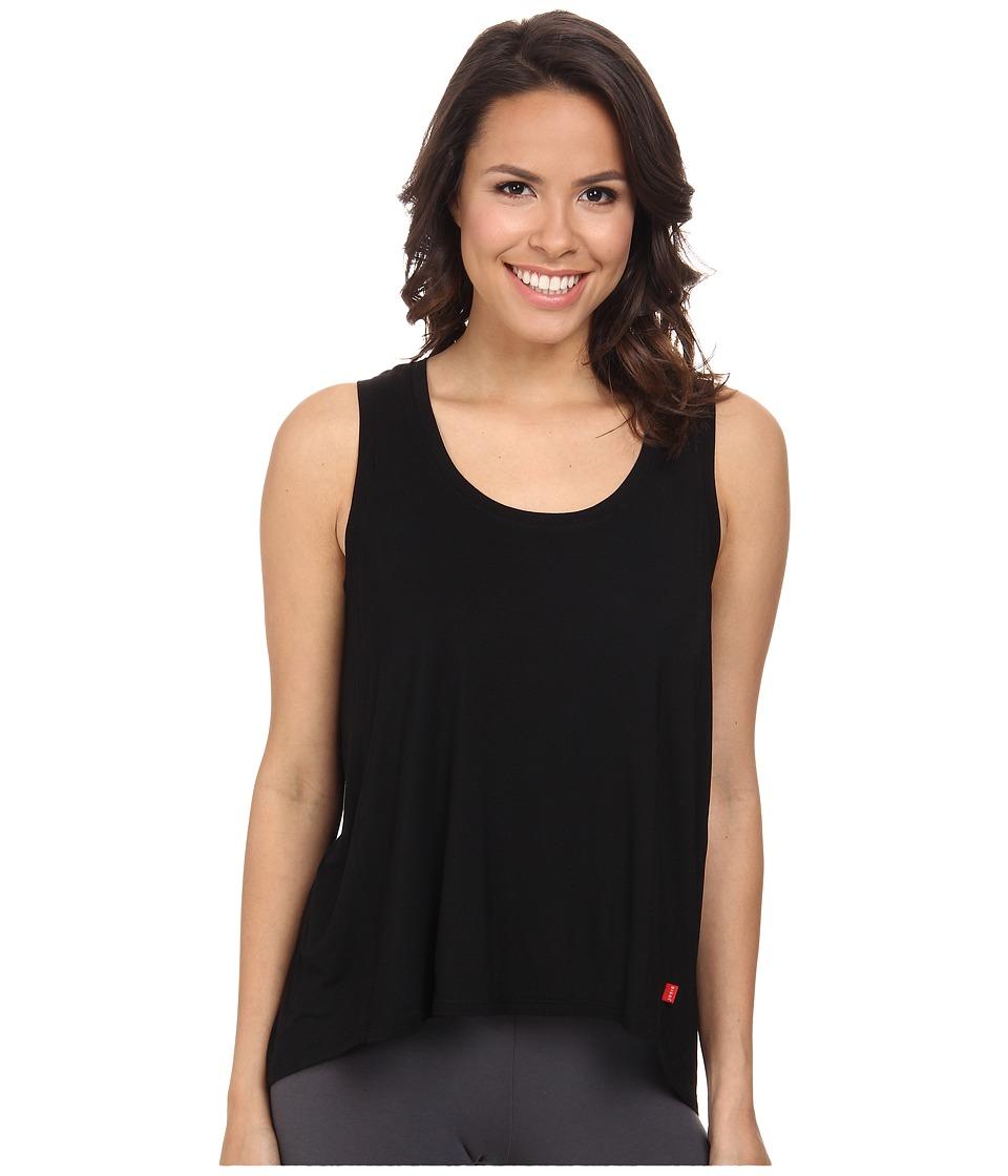 Josie Ampd Solid Jersey Tank Black Womens Pajama