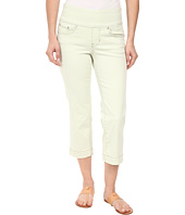 Jag Jeans Petite - Petite Caley Pull-On Crop Classic Fit in Lime Sherbet