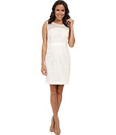 Calvin Klein - Mixed Eyelt Sheath Dress