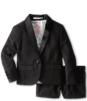 Appaman Kids - Peplum Jacket Tuxedo Short Set (Toddler/Little Kids/Big Kids)