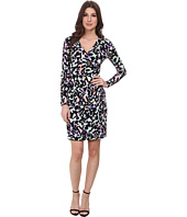 Calvin Klein - Printed Asymmetrical Jersey Dress
