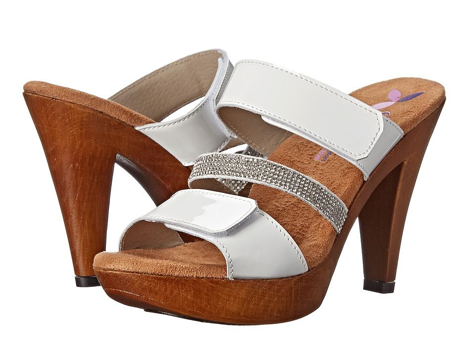Helle Comfort Natascha White Patent High Heels