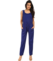 French Connection - Miami Drape Jumpsuit 7GDAJ