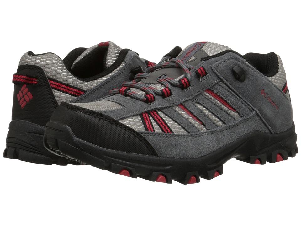 Columbia Kids - Pisgah Peak (Toddler/Little Kid/Big Kid) (City Grey) Kids Shoes