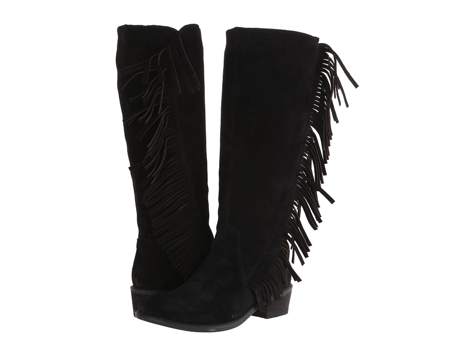 Roper - On The Fringe (Black) Cowboy Boots