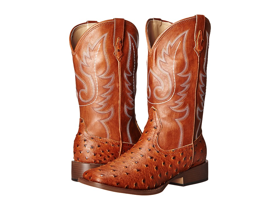 Roper Bumps (Light Beige) Cowboy Boots