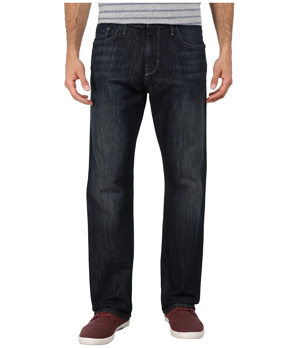 Mavi Jeans Matt Mid Rise Relaxed Straight in Deep Stanford (Deep Stanford) Men