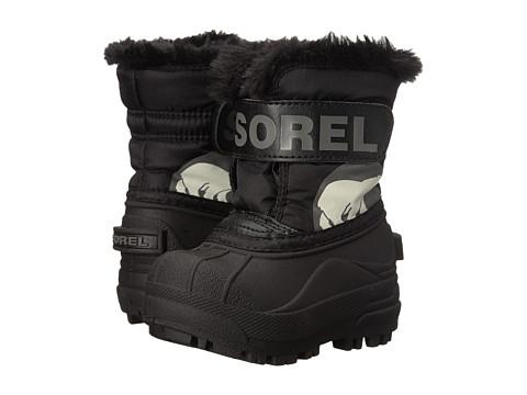 SOREL Kids Snow Commander™ (Toddler) - Black/Charcoal