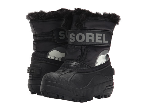 SOREL Kids Snow Commander™ (Toddler/Little Kid) - Black/Charcoal
