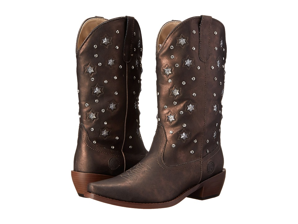 Roper - Starlights (Brown) Cowboy Boots