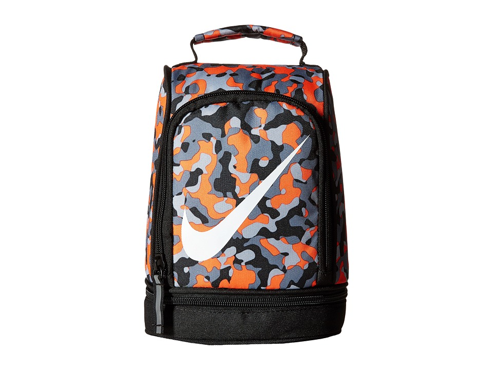 Nike Kids - Lunch Tote (Total Orange/Cool Grey) Bags