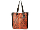 ASH Indy-Python Tote (Orange/Black)