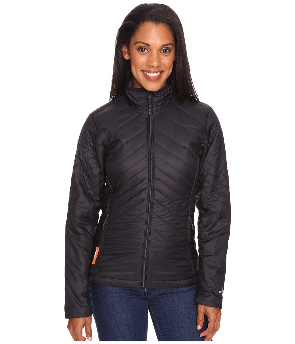 Icebreaker Stratus Long Sleeve Zip (Black/Monsoon/Black) Women