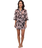 Betsey Johnson - Knit Chiffon Robe