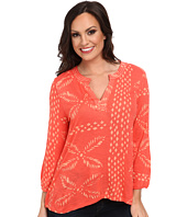 Lucky Brand - Stitched Motif Top