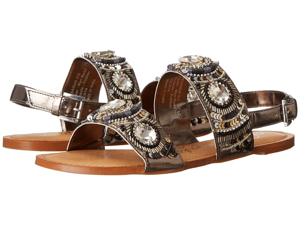 Naughty Monkey Bubble Pop (Pewter) Women's Sandals