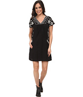 Lucky Brand - Embroidered Shift Dress