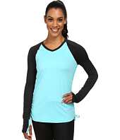 Skirt Sports - Peek-A-Boo Long Sleeve Top