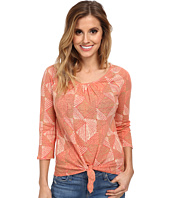 Lucky Brand - Diamond Tie Front Top