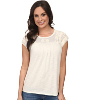 Lucky Brand - Soutache Yoke Top