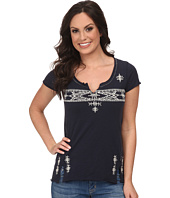 Lucky Brand - Folk Embroidered Top