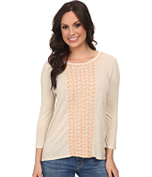 Lucky Brand - Cascading Embroidery Top