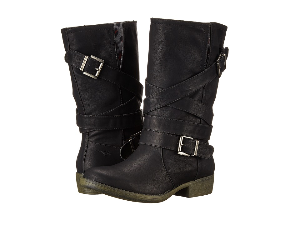 Rocket Dog Truly Black Westwood Womens Boots