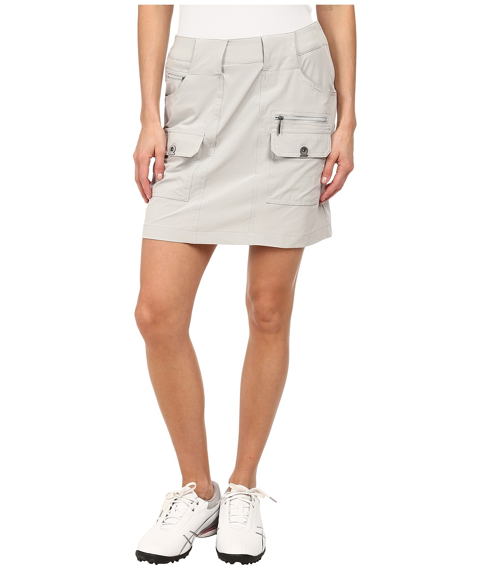 Jamie Sadock Airwear Light Weight 18 in. Skort Dove Grey Womens Skort