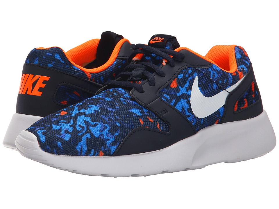 Nike - Kaishi Print (Dark Obsidian/Photo Blue/Total Orange/White) Mens Running Shoes